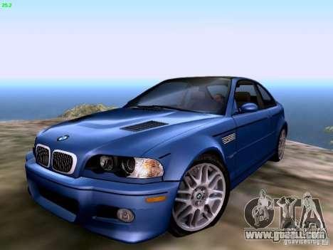 BMW M3 Tunable for GTA San Andreas