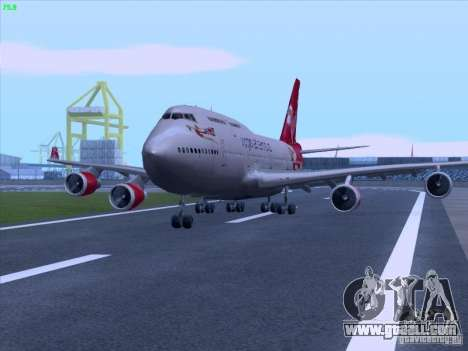 Boeing 747-4Q8 Lady Penelope for GTA San Andreas right view