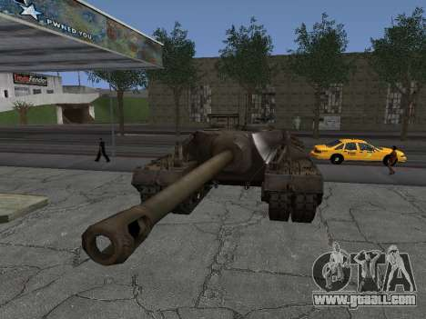 Pt-SAU T95 for GTA San Andreas right view