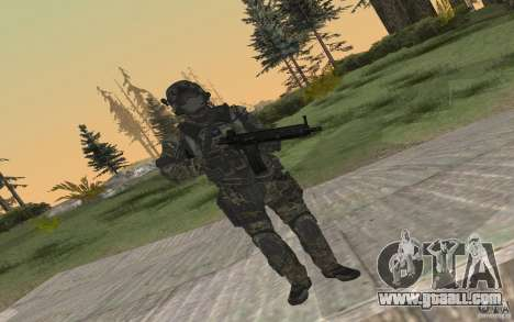 Seals soldier from BO2 for GTA San Andreas forth screenshot