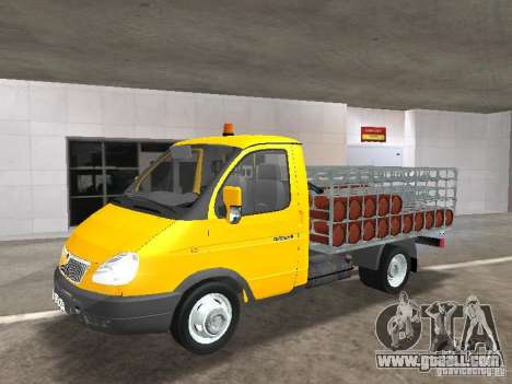 GAZ 3302 Balonovoz for GTA San Andreas