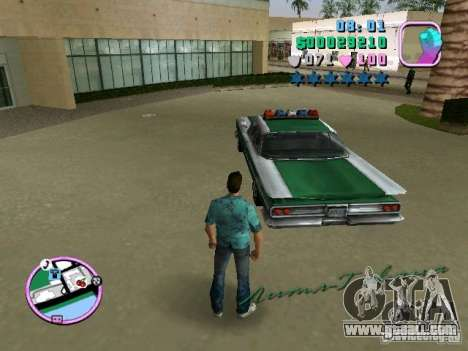 Voodoo Police for GTA Vice City right view