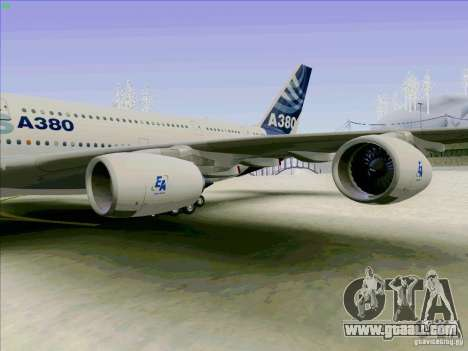 Airbus A380-800 for GTA San Andreas right view