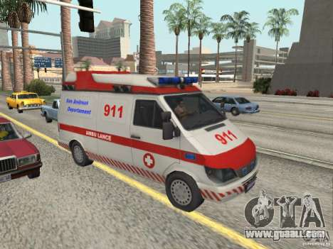 Ford Transit Ambulance for GTA San Andreas