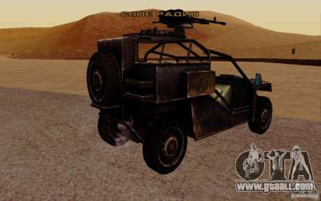 VDV Buggy from Battlefield 3 for GTA San Andreas left view