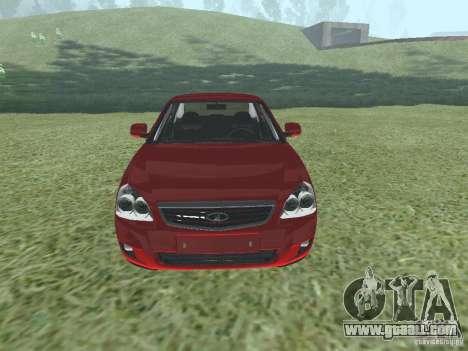 VAZ-2170 for GTA San Andreas
