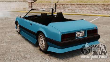Uranus convertible for GTA 4