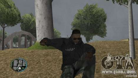 GTAIV HUD for a wide screen (16: 9) v2 for GTA San Andreas fifth screenshot