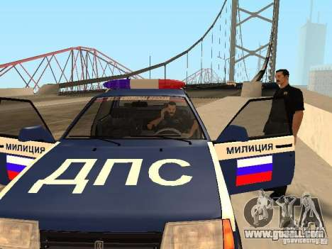 An ACCIDENT on the bridge Garver for GTA San Andreas forth screenshot