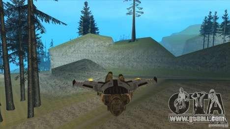 JetWings Black Ops 2 for GTA San Andreas seventh screenshot