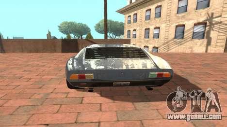 Lamborghini Miura P400 SV 1971 V1.0 for GTA San Andreas right view