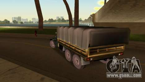 ZIL-157 for GTA Vice City back view