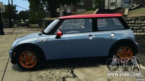 Mini Cooper S v1.3 for GTA 4 left view