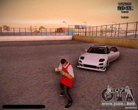 Skin Chicago Bulls for GTA San Andreas sixth screenshot