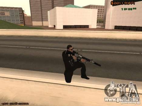 Gray weapons pack for GTA San Andreas fifth screenshot