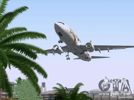 Boeing 737-800 Tiger Airways for GTA San Andreas bottom view