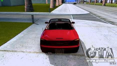 Nissan Silvia S15 Varietta for GTA San Andreas back view
