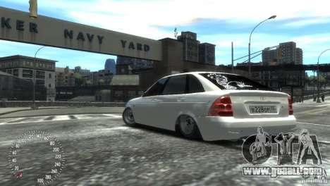 VAZ-2172 Pitbull for GTA 4 left view
