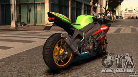 Kawasaki Ninja ZX-6R for GTA 4 back left view