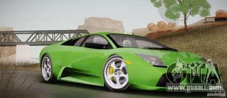 Lamborghini Murcielago 2002 v 1.0 for GTA San Andreas side view