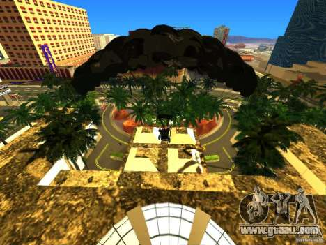 Global Parachute Mod for GTA San Andreas third screenshot