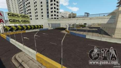 Long Beach Circuit [Beta] for GTA 4 tenth screenshot