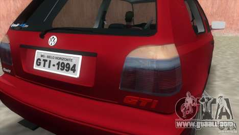 Volkswagen Golf GTI 1994 for GTA Vice City right view