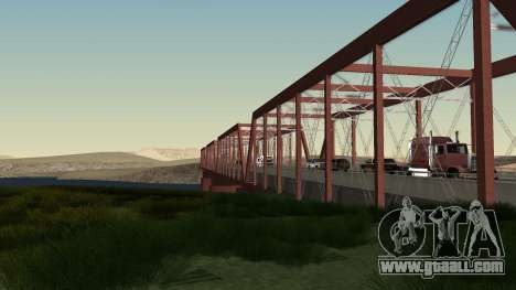 The new bridge of LS-LV for GTA San Andreas third screenshot