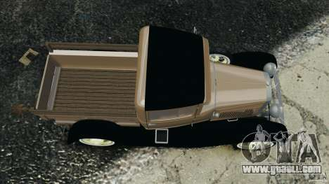Ford Model A Pickup 1930 for GTA 4 right view