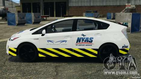 Toyota Prius NY Airport Service for GTA 4 left view