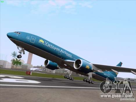 Boeing 777-2Q8ER Vietnam Airlines for GTA San Andreas side view