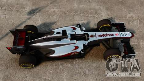 McLaren MP4-28 for GTA 4 back view