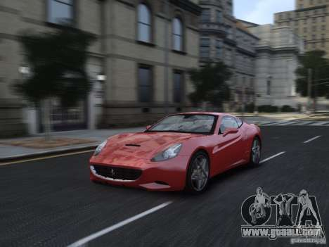 Ferrari California 2009 for GTA 4 side view