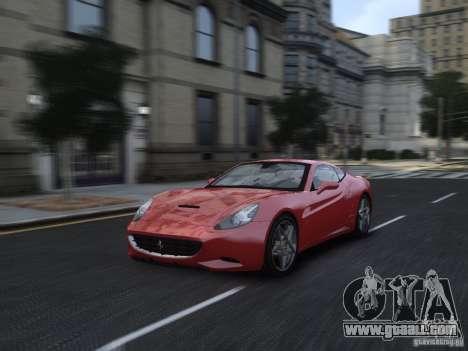Ferrari California 2009 for GTA 4 side view