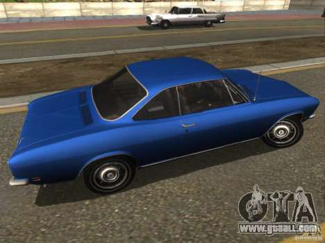 Chevrolet Corvair Monza 1969 for GTA San Andreas left view