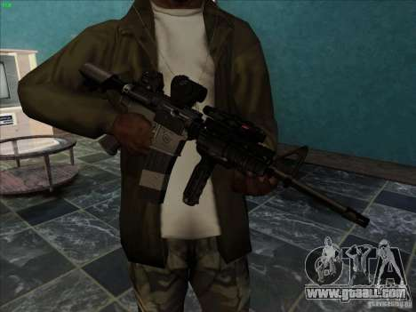 MK-18 US Navy Style for GTA San Andreas second screenshot