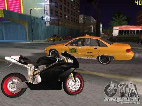 Ducati 999R for GTA San Andreas left view
