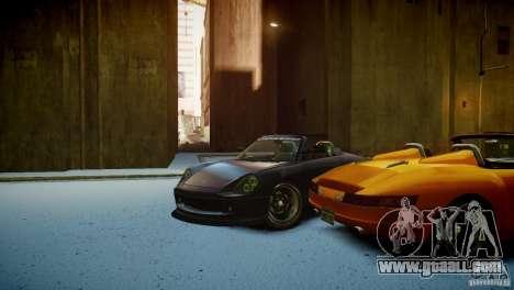 Comet Speedster for GTA 4 inner view
