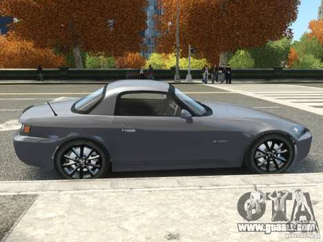 Honda S2000 2004 for GTA 4 right view