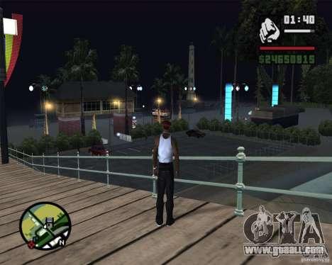 Modern beach in Los-Santos for GTA San Andreas sixth screenshot