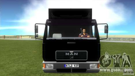 MAN L2000 v0.9 for GTA Vice City back left view