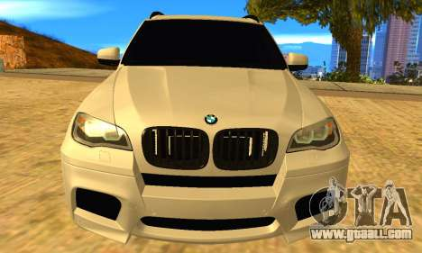 BMW X5M 2013 v2.0 for GTA San Andreas right view