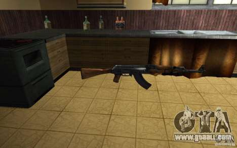 AK-47 from the game Left 4 Dead for GTA San Andreas