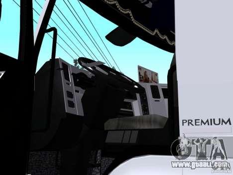 Renault Premium Mixer for GTA San Andreas back view