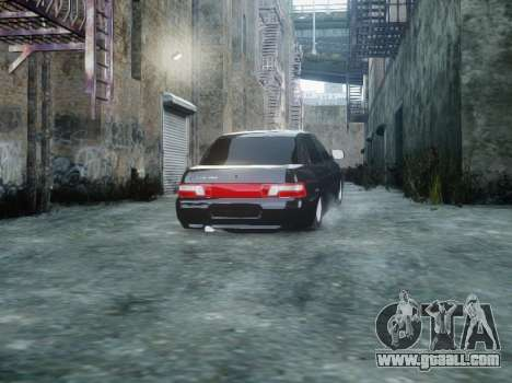 VAZ 2110 for GTA 4 back view