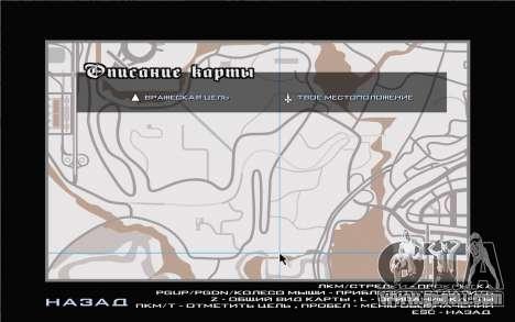 GTA V map for GTA San Andreas third screenshot