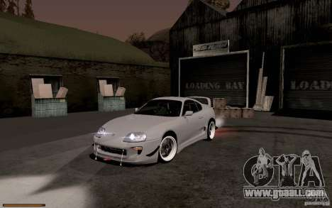 Toyota Supra D1 1998 for GTA San Andreas left view