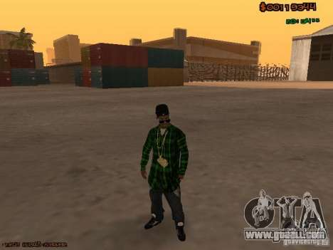 Grove Street Family for GTA San Andreas second screenshot