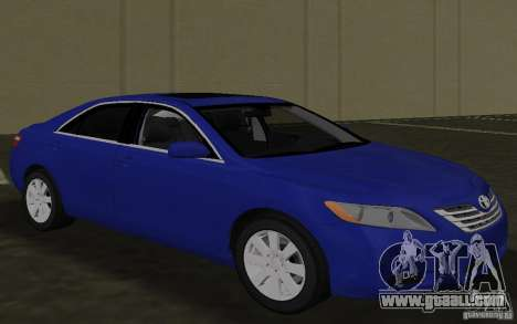 Toyota Camry 2007 for GTA Vice City inner view