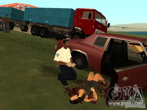 A horrible accident for GTA San Andreas forth screenshot